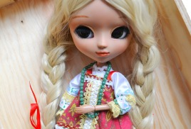 Береника - авторская кукла Pullip - Little Pretty Witches by Vera Radostnaya